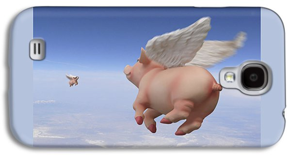 Pigs Fly 2 Galaxy S4 Case