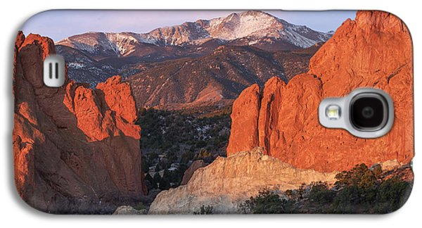Pikes Peak Sunrise Galaxy S4 Case by Aaron Spong