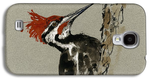 Pileated Woodpecker Galaxy S4 Case by Juan  Bosco