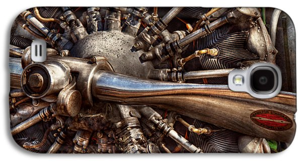 Pilot - Plane - Engines At The Ready  Galaxy S4 Case by Mike Savad