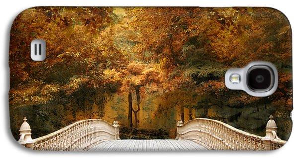 Pine Bank Autumn Galaxy S4 Case