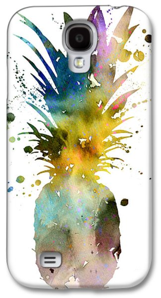 Pineapple 2 Galaxy S4 Case by Watercolor Girl