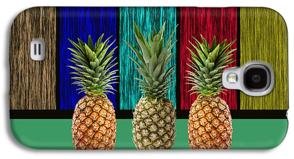 Pineapples Galaxy S4 Case by Marvin Blaine