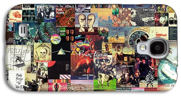Rock And Roll Galaxy S4 Case - Pink Floyd Collage II by Taylan Apukovska