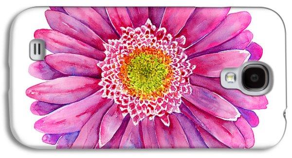 Pink Gerbera Daisy Galaxy S4 Case