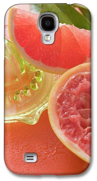 Pink Grapefruit Wedge, Squeezed Grapefruit, Citrus Squeezer Galaxy S4 Case