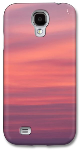 Pink Moon Galaxy S4 Case by Bill Wakeley