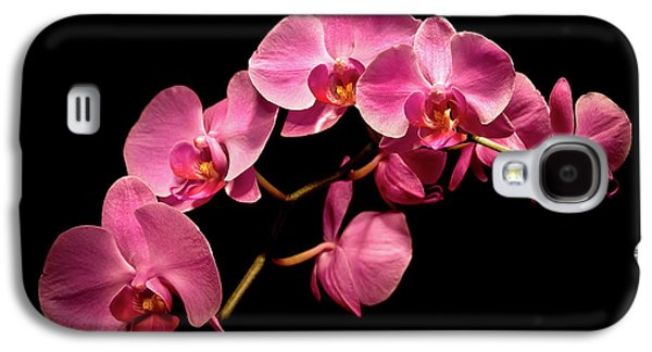 Pink Orchids 3 Galaxy S4 Case