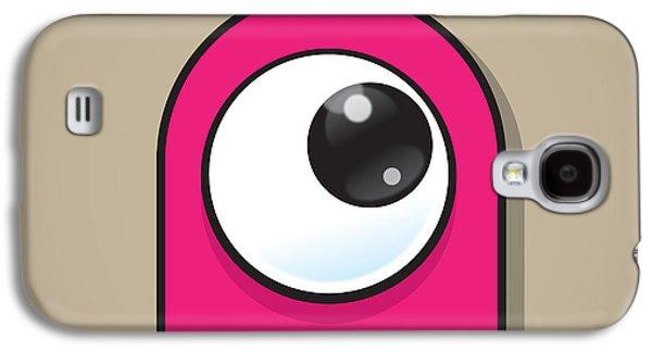 Pink Galaxy S4 Case by Samuel Whitton