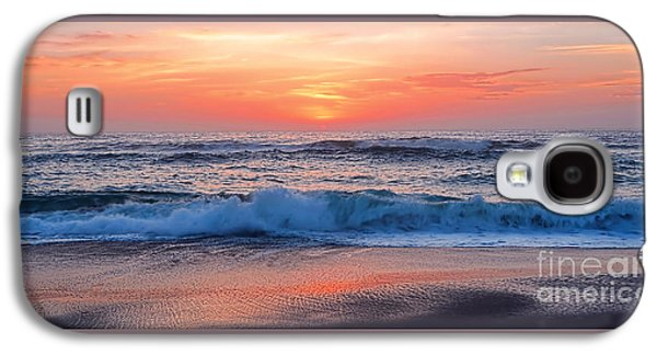 Pink Sunrise Panorama Galaxy S4 Case