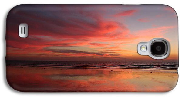 Ocean Sunset Reflected  Galaxy S4 Case