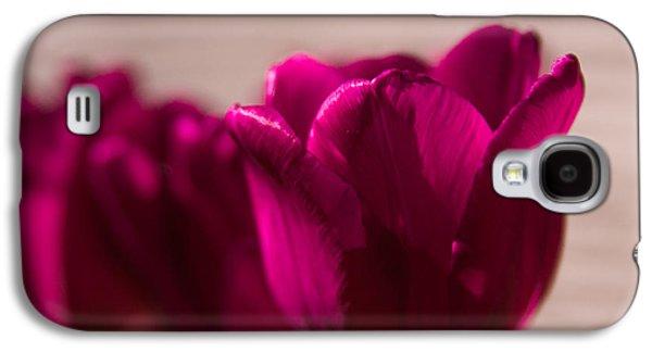 Pink Tulip Galaxy S4 Case by Erin Kohlenberg