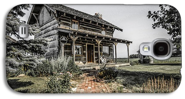 Pioneer Farmhouse Galaxy S4 Case by Chris Smith