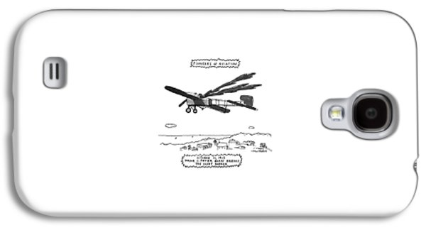 Pioneers Of Aviation October 21 Galaxy S4 Case by Michael Crawford