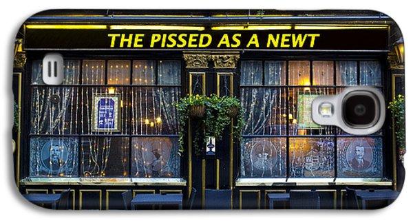 Pissed As A Newt Pub  Galaxy S4 Case by David Pyatt