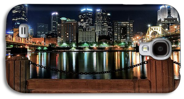Pittsburgh At Night Galaxy S4 Case