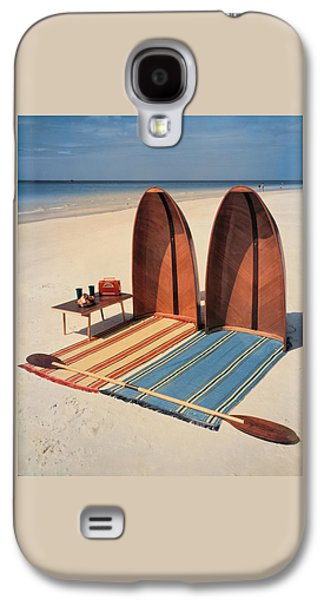 Pixie Collapsible Boat On The Beach Galaxy S4 Case