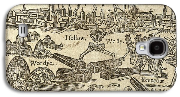 Plague In London Galaxy S4 Case by British Library