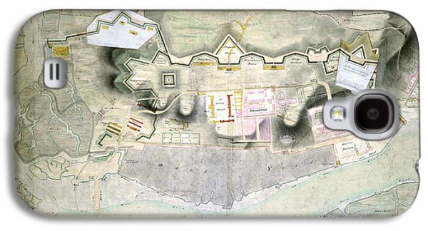 Plan Of Chatham Lines Galaxy S4 Case