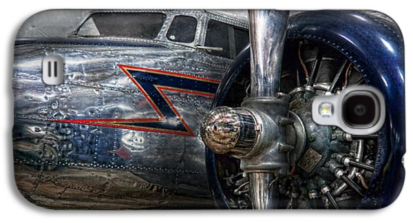 Plane - Hey Fly Boy  Galaxy S4 Case by Mike Savad