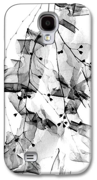Plant Foliage And Bark Shavings Galaxy S4 Case by Albert Koetsier X-ray