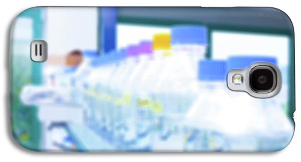 Plastic Bottles In Lab Galaxy S4 Case by Wladimir Bulgar