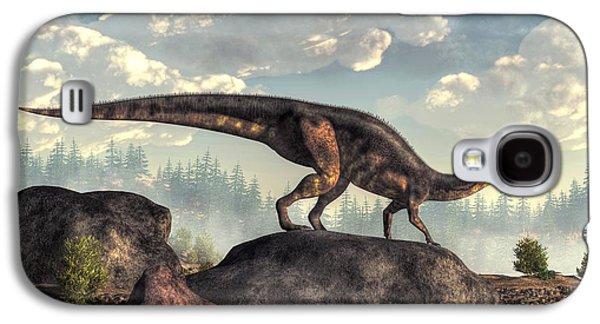 Plateosaurus Galaxy S4 Case by Daniel Eskridge