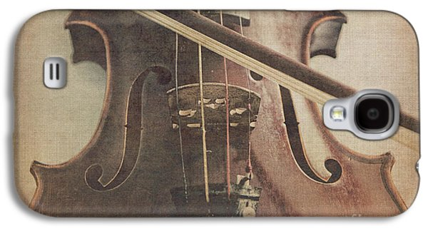 Violin Galaxy S4 Case - Play A Tune by Emily Kay