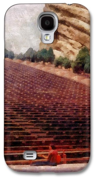 Playing At Red Rocks Galaxy S4 Case by Michelle Calkins