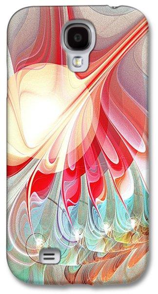 Playing With Colors Galaxy S4 Case by Anastasiya Malakhova