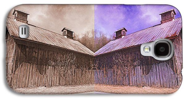 Pleasant View Country Barns Galaxy S4 Case by Betsy Knapp