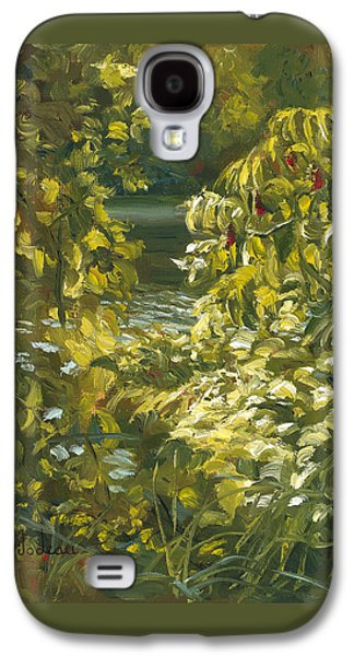 Plein Air - By The Chicopee River Galaxy S4 Case by Lucie Bilodeau
