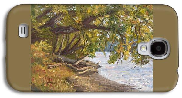 Plein Air - Chicopee River Galaxy S4 Case by Lucie Bilodeau