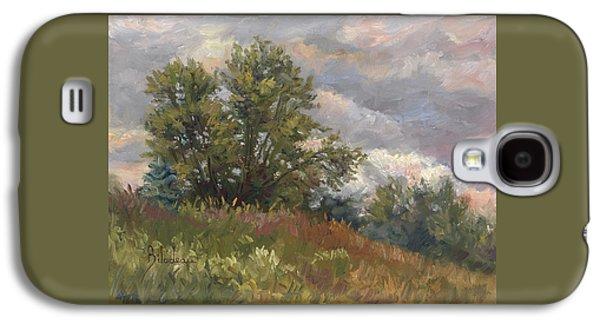Plein Air - Near The Chicopee River Galaxy S4 Case by Lucie Bilodeau