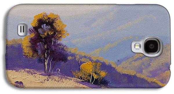Rural Scenes Galaxy S4 Case - Plein Air  Study by Graham Gercken