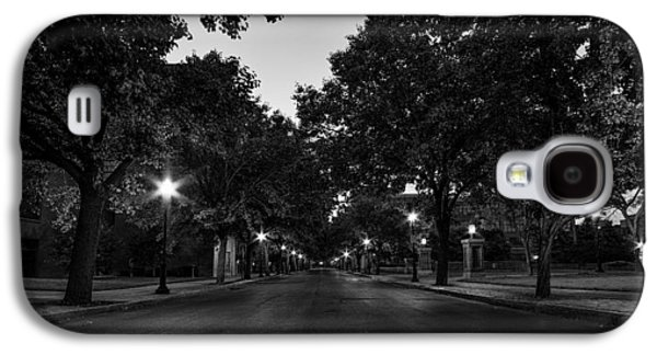 Plum Street To Franklin Square Galaxy S4 Case by Everet Regal
