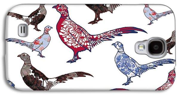 Plush Galaxy S4 Case by Sarah Hough