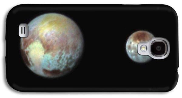 Pluto And Charon Galaxy S4 Case by Nasa/apl/swri