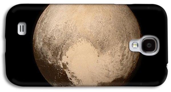 Pluto Galaxy S4 Case by Nasa/apl/swri