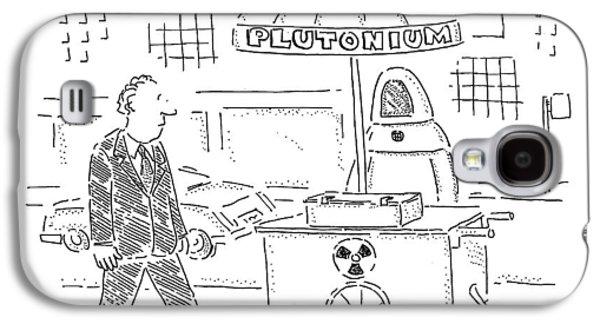 Plutonium Galaxy S4 Case