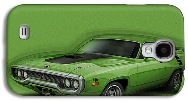 Plymouth Roadrunner 1972 Galaxy S4 Case by Etienne Carignan