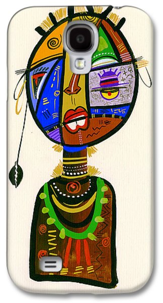 Poetic Faces Galaxy S4 Case by Oglafa Ebitari Perrin