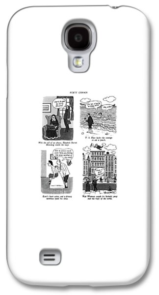 Poets' Corner Galaxy S4 Case