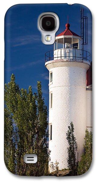 Point Betsie Lighthouse Michigan Galaxy S4 Case by Adam Romanowicz