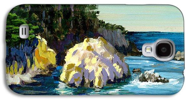 Point Lobos Rock Galaxy S4 Case by Alice Leggett