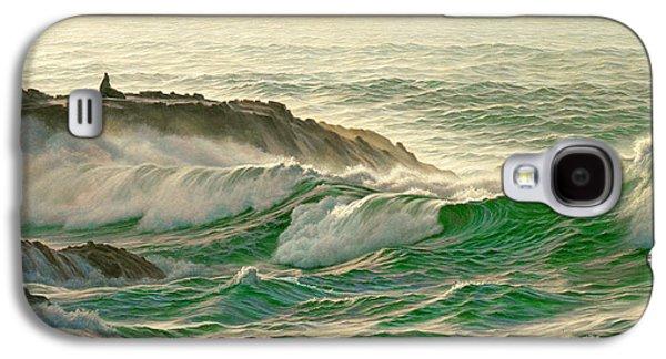 Point Lobos Surf Galaxy S4 Case