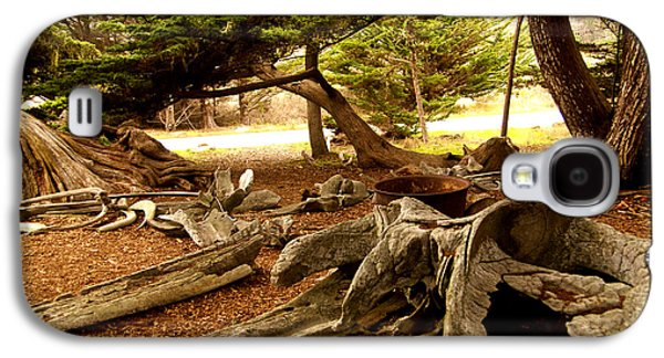 Point Lobos Whalers Cove Whale Bones Galaxy S4 Case