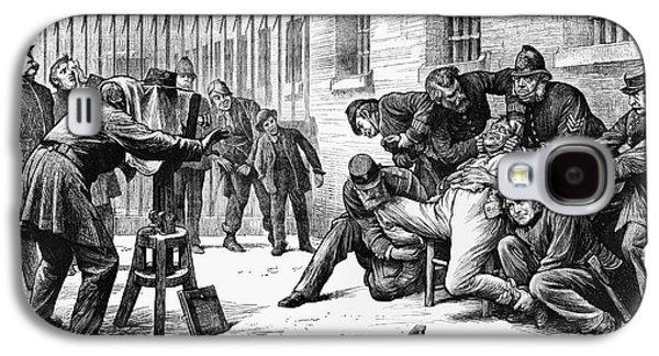 Police Photographer, 1873 Galaxy S4 Case