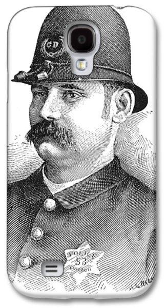 Policeman, 1887 Galaxy S4 Case