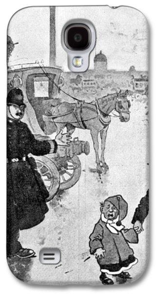 Policeman Cartoon, 1904 Galaxy S4 Case